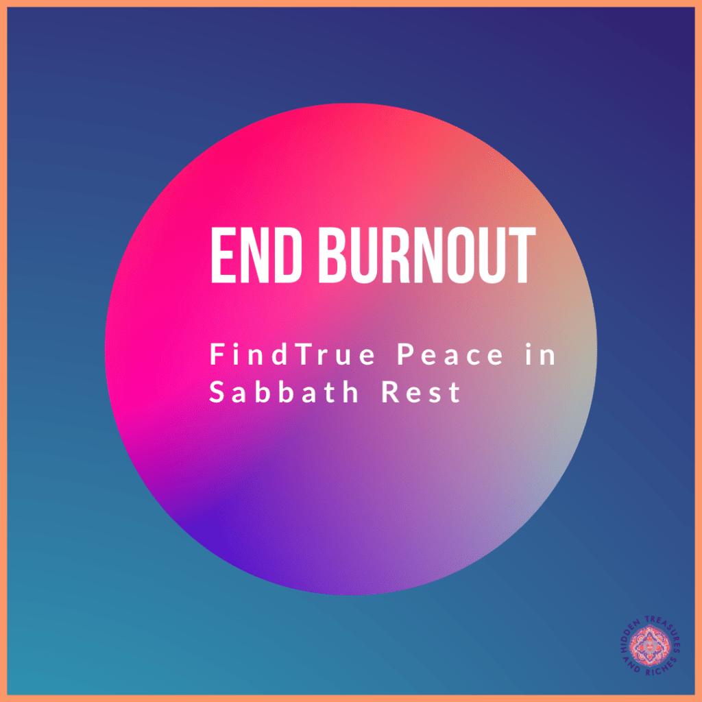 Sabbath Rest and True Peace