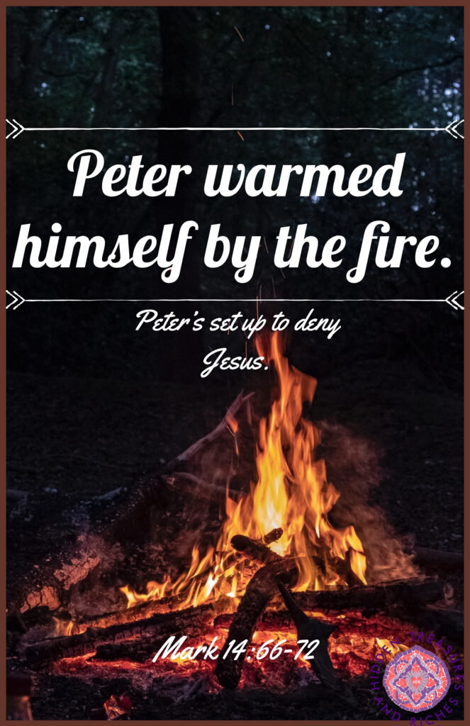 Although Peter denied Jesus, He is our hope in the midst of Chaos and Failure
