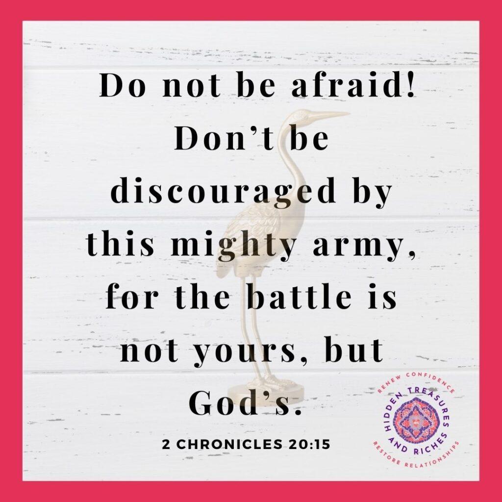 A Prayer that moves mountains. A battle plan for spiritual warfare--Christian Life Coaching