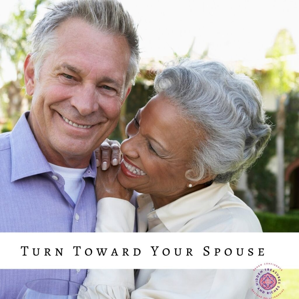 Christian Marriage: Nurturing Deeper Connection by turning toward your spouse.