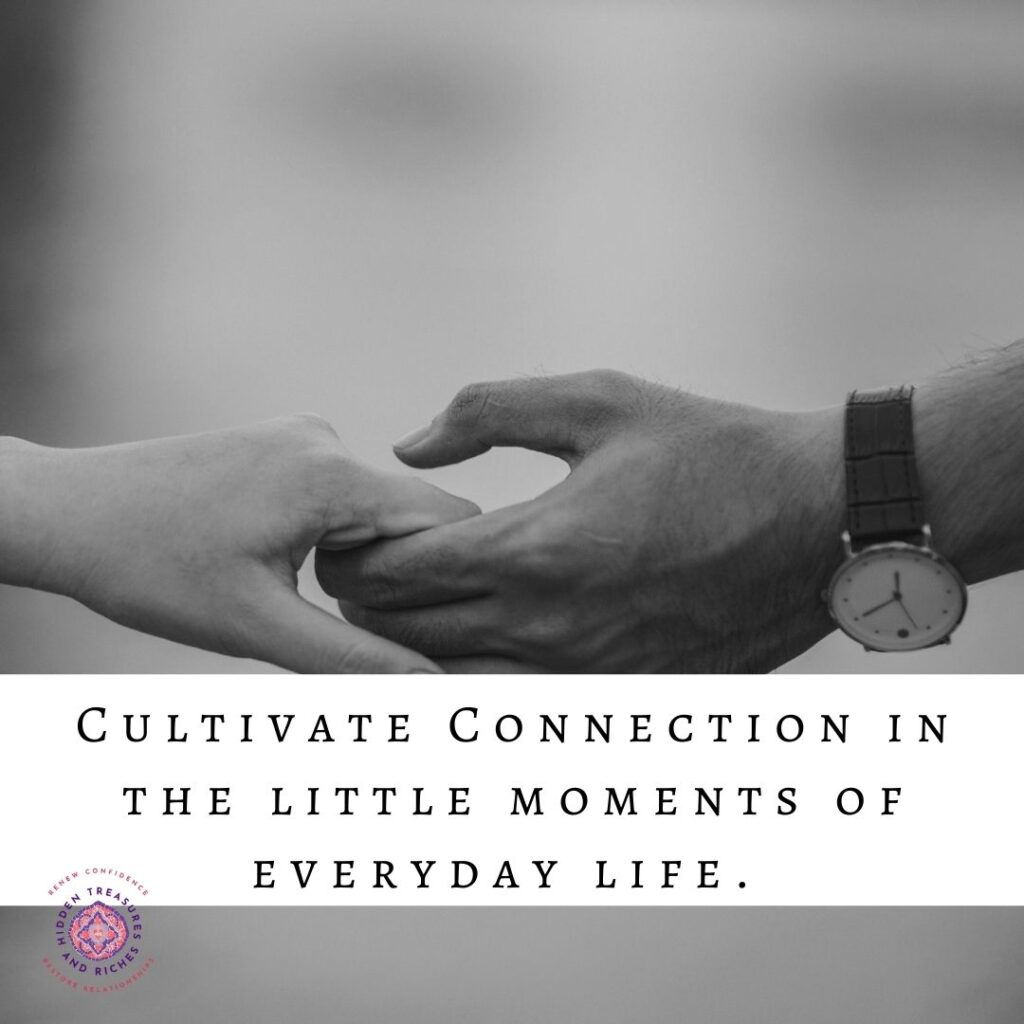 Christian Marriage-Nurture Deeper connection in marriage through little moments of everyday life--Christian Life Coaching.