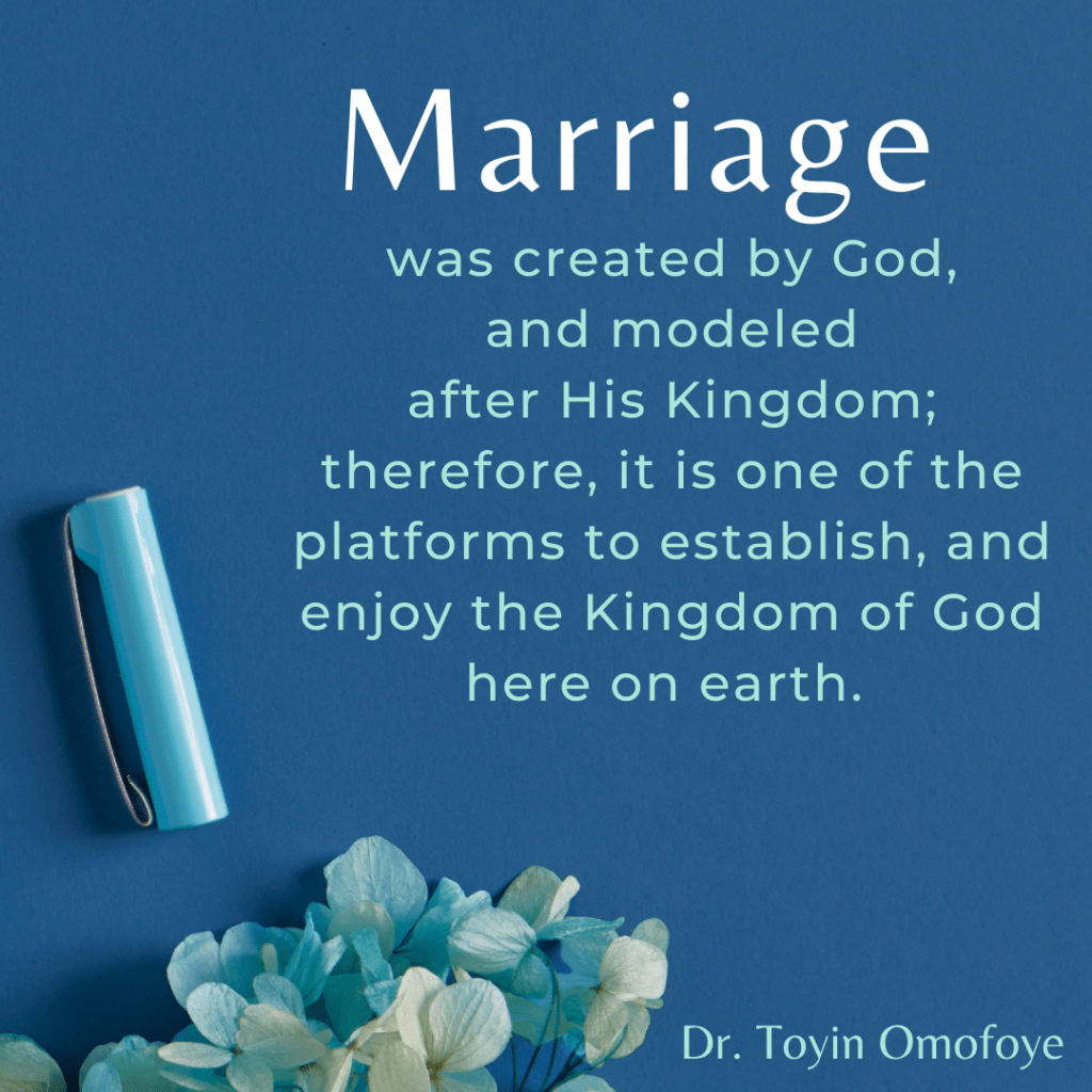 Submission and 5 kingdom keys for a wholesome marriage
